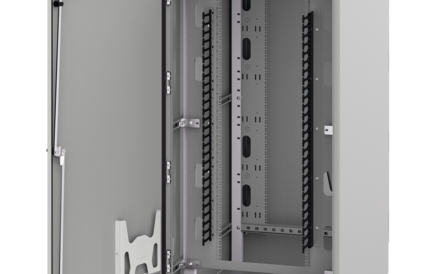 Seismic Free-Standing, Dual-Access Cabinet, Type 4