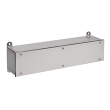 <span>Stainless Steel Screw-Cover Wiring Trough, Type 4X</span>