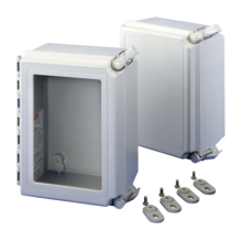 <span>Fiberglass and Thermoplastic Wall Mounted Industrial Enclosures</span>