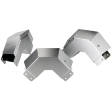 <span>Clean Tray 90-Degree Elbow, Outside Cover Sloped</span>