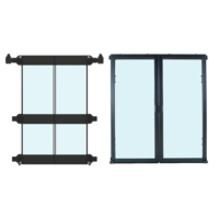 ProLine Containment System Express Sealed Doors