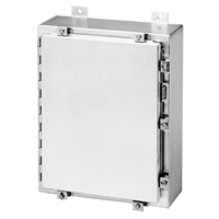 Aluminum Continuous Hinge with Clamps, Type 4X