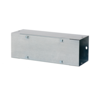Straight Section, Lay-in Galvanized Flat-Cover, Type 1