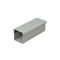 Straight Section, Lay-in Painted Galvanized Hinged-Cover